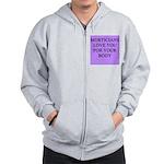 mortician gifts t-shirts Zip Hoodie