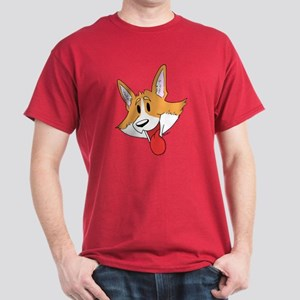 Pembroke Corgi Head Dark T-Shirt