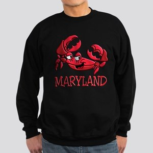 Maryland Crab Sweatshirt (dark)