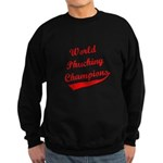 World Phucking Champions, Red Sweatshirt (dark)