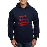 World Phucking Champions, Red Hoodie (dark)