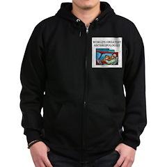 ANTHROPOLOGIST GIFTS T-SHIRTS Zip Hoodie (dark)