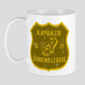 Kayaker Drinking League Mug