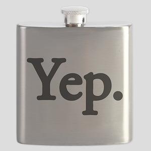 Yep. - black Flask
