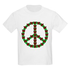 Peace without Dubya Bush Kids T-Shirt