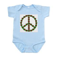 Peace without Dubya Bush Infant Creeper
