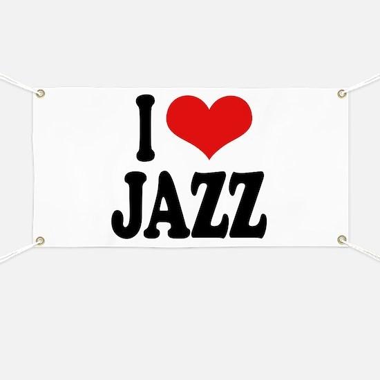 I Love Jazz Banner