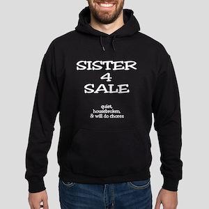 Sister for Sale Hoodie (dark)