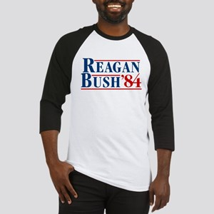Bush Reagan 84 Election Baseball Jersey