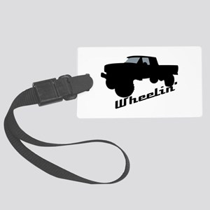 4x4 Truck Large Luggage Tag
