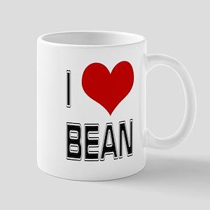 I Heart Bean Mugs