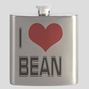 I Heart Bean Flask