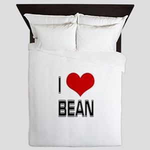 I Heart Bean Queen Duvet