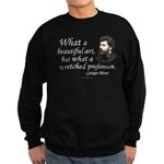 Bizet Music Quote Sweatshirt (dark)