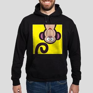 Happy Monkey Hoodie (dark)