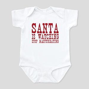 Santa is Watching Infant Bodysuit