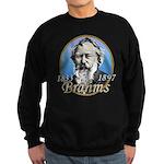 Johannes Brahms Sweatshirt (dark)