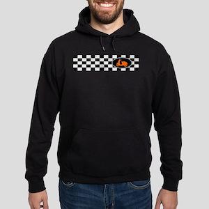 Checkerboard Scoot Hoodie (dark)