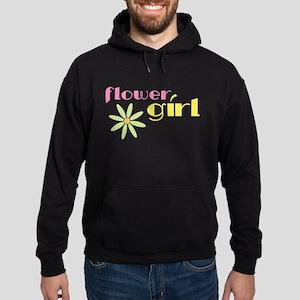 Pastel Flower Girl Hoodie (dark)