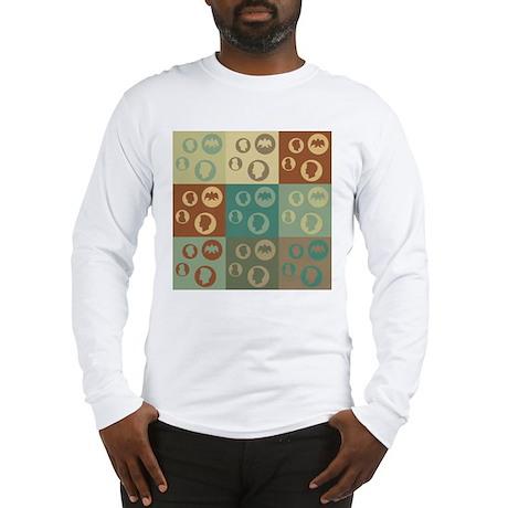 Coins Pop Art Long Sleeve T-Shirt