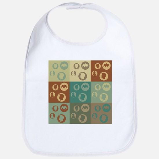 Coins Pop Art Bib