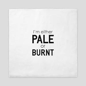 Pale or Burnt Queen Duvet