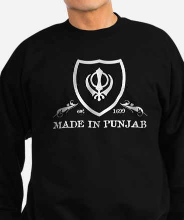 Made in Punjab. Sweatshirt (dark)