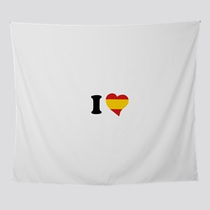 I love Spain Wall Tapestry