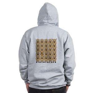 ACD and Cattle Zip Hoodie