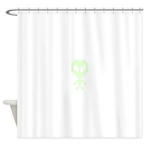 Ancient Aliens Shower Curtains