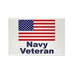 Navy Veteran Rectangle Magnet (10 pack)