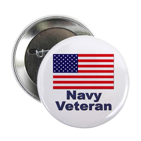 "Navy Veteran 2.25"" Button (10 pack)"