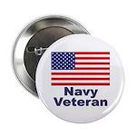Navy Veteran Button
