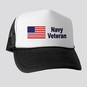 Navy Veteran Trucker Hat