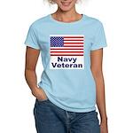 Navy Veteran Women's Pink T-Shirt