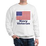 Navy Veteran (Front) Sweatshirt