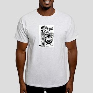 awfully good ash grey T-shirt