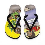 Pj And Split Pea Flip Flops Or Shower Shoes
