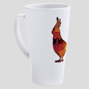 Cockatiel 17 oz Latte Mug