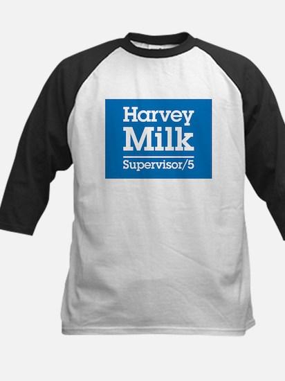 Milk for Supervisor Kids Baseball Jersey