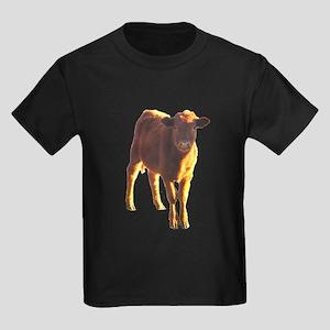 red angus Kids Dark T-Shirt