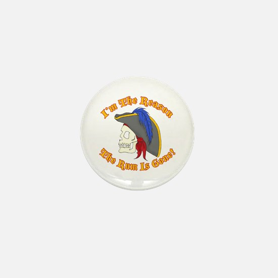 Cute Pirates of the caribbean Mini Button