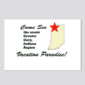Come See the Scenic Gary Regi Postcards (Package o