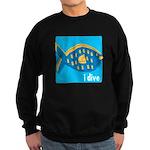 idive reef fish Sweatshirt (dark)