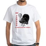 No Pardon White T-Shirt