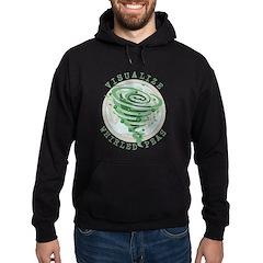 Whirled Peas Hoodie (dark)