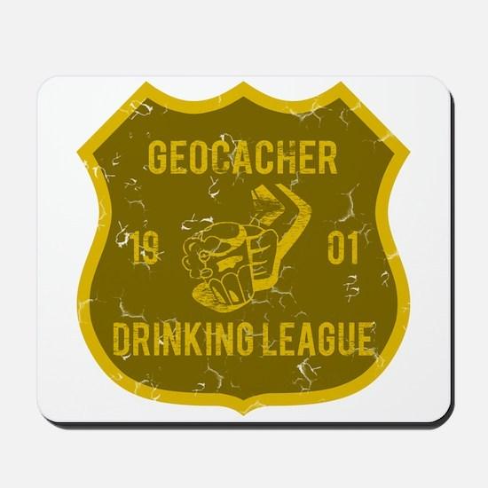 Geocacher Drinking League Mousepad