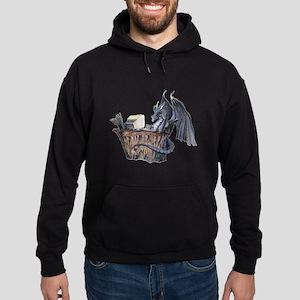 Computer Dragon Hoodie (dark)
