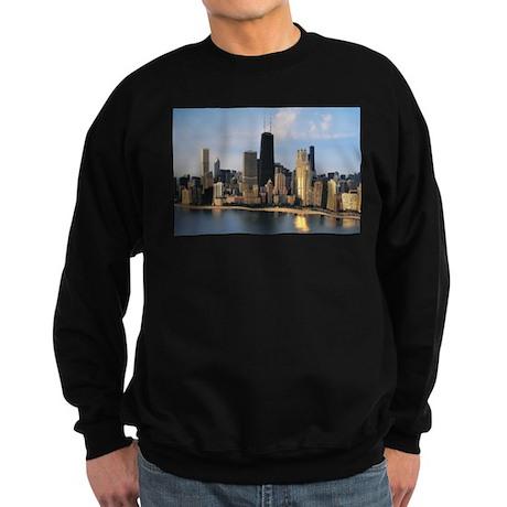 Chicago from Lake Shore Drive Sweatshirt (dark)