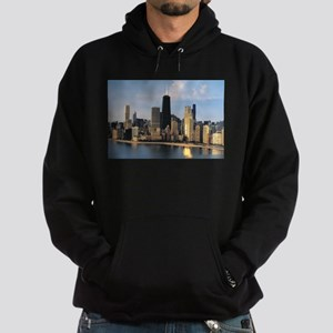 Chicago from Lake Shore Drive Hoodie (dark)